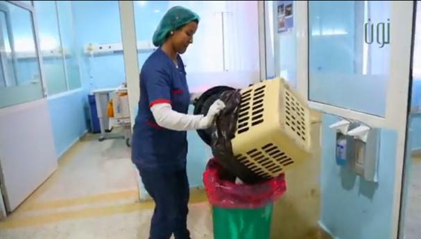 فيديو : النفايات الطبية… الخطر المدفون 1/2