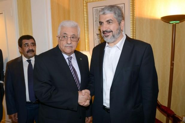 لقاء مصالحة بين عباس و مشعل يربك حسابات إسرائيل