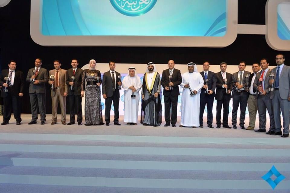 """دبي تتوج """" محمد أحداد """" صحافي """" المساء """" بجائزة الصحافة العربية"""