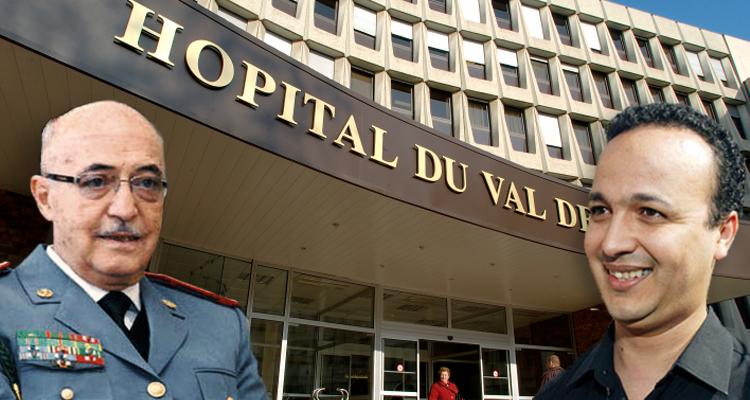 فيديو : زيارة أديب للجنرال بناني بالمستشفى الباريسي