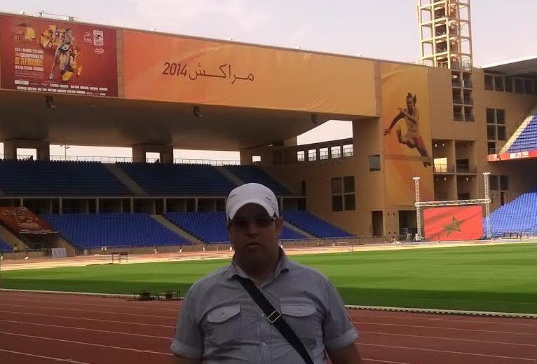 النجم الإفريقي يكرم المدير التقني لعصبة جهة طنجة تطوان لألعاب القوى (أحمد الزواوي)